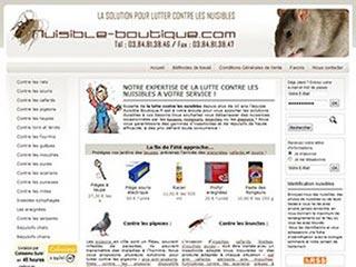 Nuisible-Boutique, produits contre nuisibles et parasites