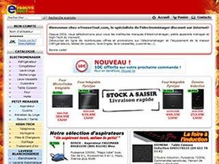 eTrouveTout : électroménager discount