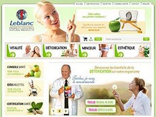 Les Produits Naturels Leblanc, la santé naturelle