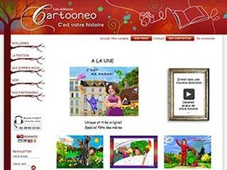 Cartooneo, livre personnalisé pour enfant