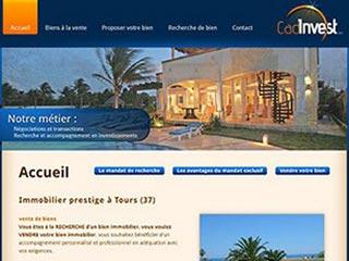 Cad-invest, immobilier prestige à Tours