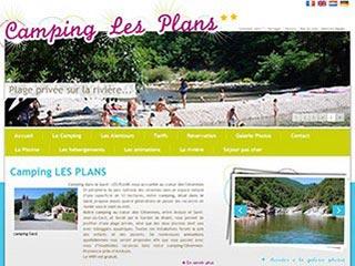 Camping Les Plans, camping caravaning dans les Cévennes