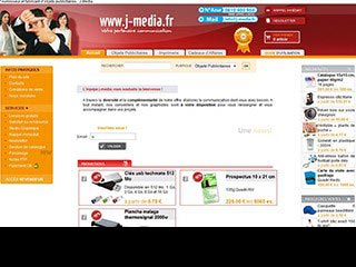 J-media : vente d'objets publicitaires