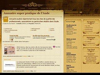 Annuaire super pratique de l'Aude