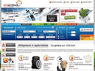 Allopneus : Pneus auto et moto à prix discount