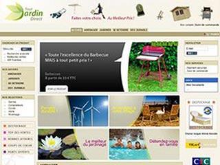 Tout Jardin Direct : Le site 100% produits de jardin