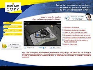 Print copy, centre reprographie numérique à Paris