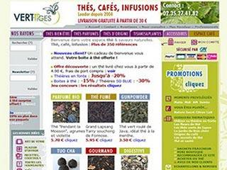 Vert Tiges : Thé, café, infusion