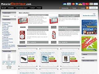 Materiel Electrique, vente d'appareils électroniques
