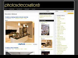 Photographies de decoration