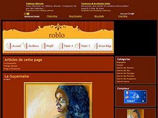 Roblo : Artiste, Peintre, Sculpteur