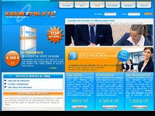 Kosmopolyte, creation site internet