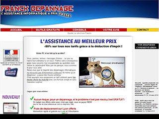 Franck depannage : Depannage informatique a Lyon