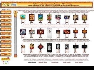 A.R.T.S, atelier spécialiste de reproduction et copie de tableau d'art