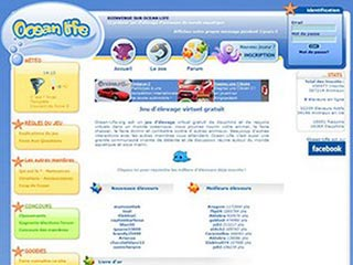 Ocean-Life, jeu virtuel en ligne