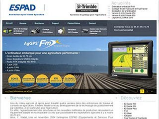 Guidage GPS pour l'agriculture : ESPAD