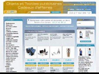 Ventes objets publicitaires et cadeaux d'affaires