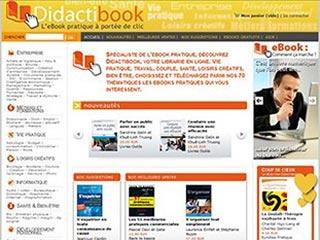 Didactibook, librairie de livres numériques pratiques