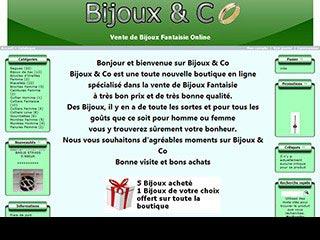 Bijoux and Co, bijoux fantaisie et fashion