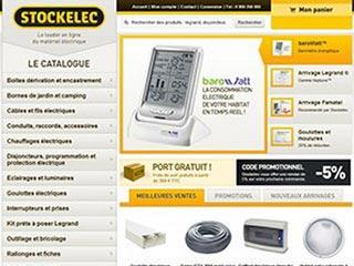 Stockelec : Matériel électrique professionnel