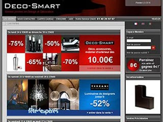 Deco-Smart, ventes privées deco et design