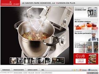 Cooking-Chef, robot cuiseur mixeur