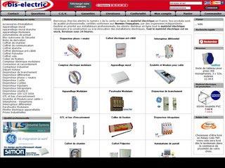 Bis-electric, vente de matériel électrique en ligne
