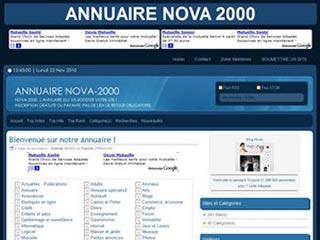 Annuaire Nova 2000, l'annuaire qui va booster votre site