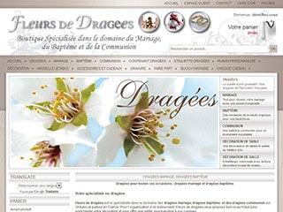 dragées discount et personnalisées sur Fleurs de Dragées