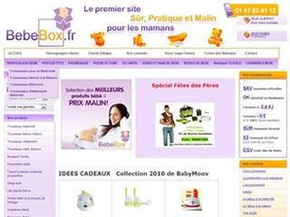 Bebebox, le site pratique des futures mamans