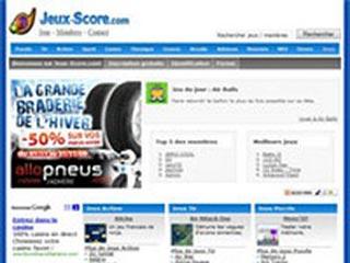 Jeux score, jeux en ligne gratuit