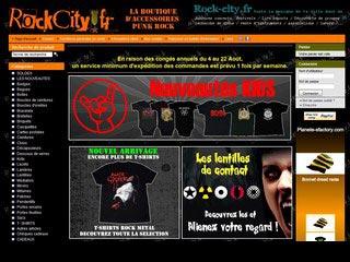 Rockcity, la boutique d'accessoires punk rock