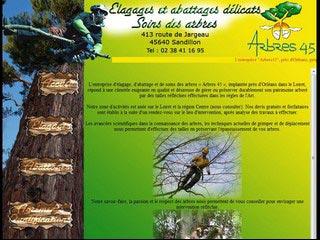 Arbres45 : Elagage, abattage et soins des arbres