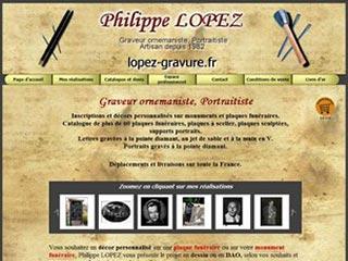 Lopez gravure