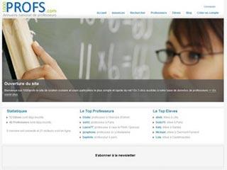 1000 profs : Annuaire gratuit de professeurs en ligne