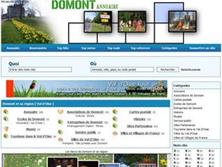 Domont Annuaire, région du Val d'Oise