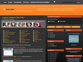 Index Sites, annuaire gratuit pour indexer vos site
