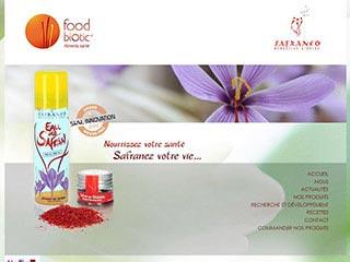 Foodbiotic, recettes à base de safran