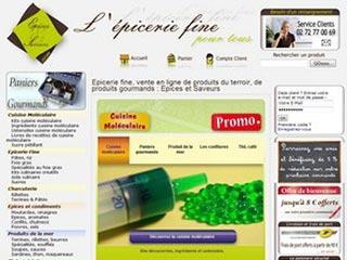 Epices et Saveurs, boutique en ligne d'épicerie fine