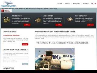 Fadwa cargo, fret aérien et services de transport