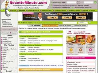 Recette Minute, recettes rapides et faciles