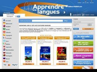 Editions Vasseur, apprendre à parler les langues étrangères