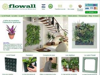 Flowall, kit pour mur végétal d'intérieur