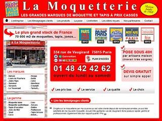 Moquette aux meilleurs prix sur Paris à la Moquetterie