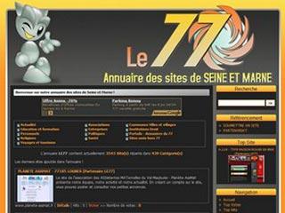 LE77 : Annuaire portail des sites de Seine et Marne