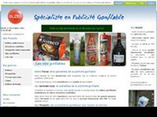 Fabrication et vente ballon publicitaire : Olizeo