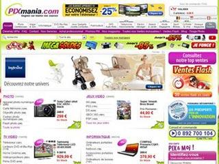 Pixmania, achat en ligne high-tech et électroménager