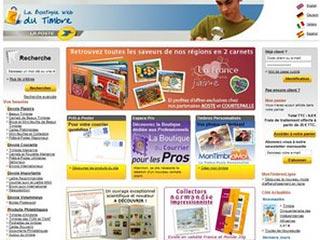 La Poste Timbre, la boutique du timbre