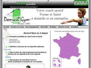 Domicil Gym, coach sportif à domicile