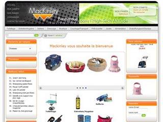 Mackinley, produits et accessoires pour animaux